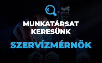 Munkatársat keresünk – Szervizmérnök