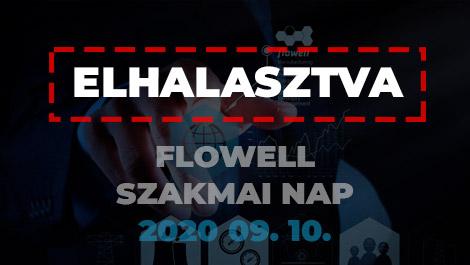 A Flowell csoport a szeptemberre tervezett Szakmai napját elhalasztja